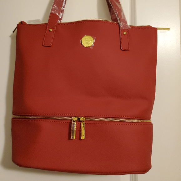 NEW Large Leather Tote